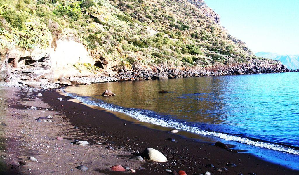 Panorama Spiaggia di Leni